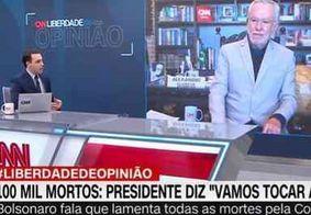 """Apresentador briga com Alexandre Garcia sobre cloroquina: """"E os mortos?"""""""