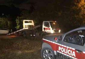 Bandidos atiram contra a polícia e atropelam motociclistas durante perseguição, na Zona Sul de JP