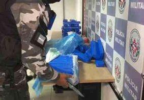 Polícia apreende 100kg de maconha no bairro Colinas do Sul, em João Pessoa
