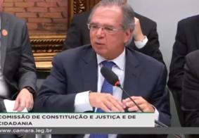 Acompanhe o debate da CCJ com Paulo Guedes sobre a Reforma da Previdência