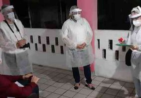 Vigilância realiza testagem em abrigo após idosos apresentarem sintomas da Covid-19