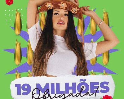Juliette ultrapassa 19 milhões de seguidores no Instagram