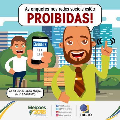 Legislação eleitoral proíbe enquetes nas redes sociais; multa pode chegar a R$ 329 mil