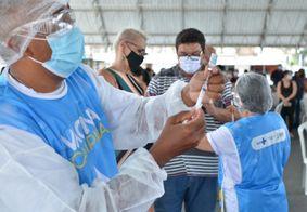 vacinação em Campina Grande, na Paraíba