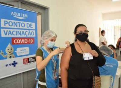 Quase 19 mil pessoas já foram imunizadas contra a Covid-19 em João Pessoa