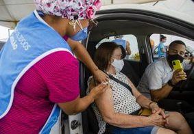 João Pessoa alerta para segunda dose e continua vacinação para 64 anos ou mais