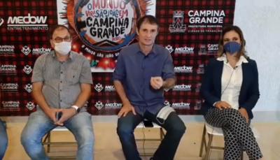 São João de Campina Grande é transferido para Outubro e Novembro; veja