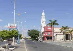 Os termômetros em Monteiro chegaram a marcar 14,9ºC