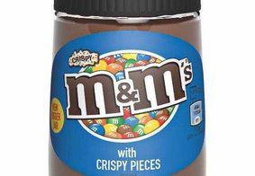 Para concorrer com Nutella, M&M's lança seu próprio creme de avelã