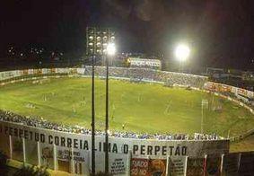 Partida entre Nacional de Patos e Atlético-PB é adiada por problemas na iluminação