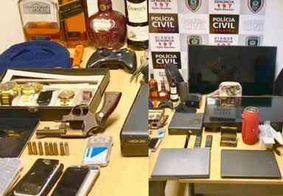 Polícia prende um dos maiores receptadores de produtos roubados da Grande João Pessoa