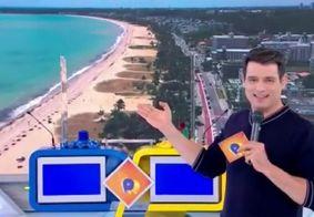 Celso Portiolli elogia beleza das praias de João Pessoa