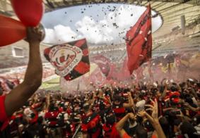 Maracanã vira baile funk após título do Flamengo na Libertadores
