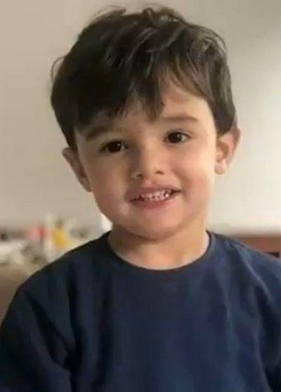 Gael, de três anos, não resistiu e morreu de uma parada cardiorespiratória