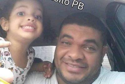 RonaldoLima, 39 anos, eda filha Antônia,5 anos, não resistiram aos ferimentos
