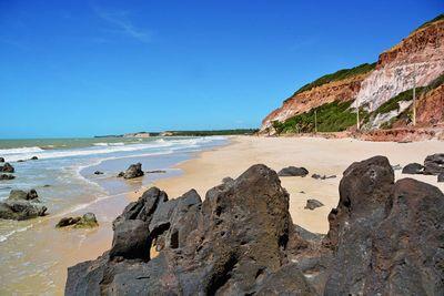 Praia de Barra de Gramame, em João Pessoa
