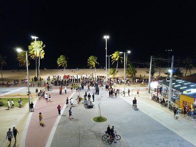 Aproximadamente 200 pessoas são abordadas durante aglomeração em ponto turístico de JP, diz Semusb