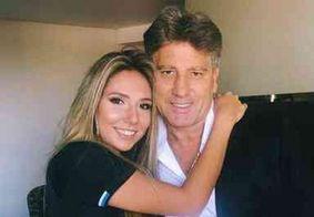 De quarentena, Renato Gaúcho é zoado pela filha Carol Portaluppi