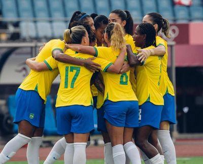 Seleção Brasileira Feminina venceu por 5 a 0