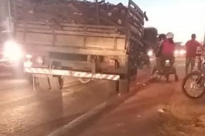 Mulher morre atropelada por caminhão enquanto fazia caminhada, na PB