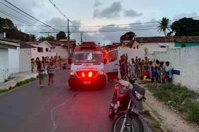 Adolescente de 13 anos é atropelada em bairro de João Pessoa