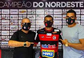 Artilheiro do Campeonato Paraibano, Rafael Ibiapino segue no Campinense para Série D