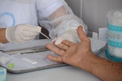 20% da população da Paraíba foi testada para a Covid-19