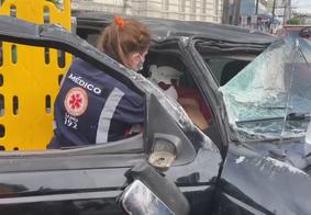 Acidente foi registrado no Centro de João Pessoa