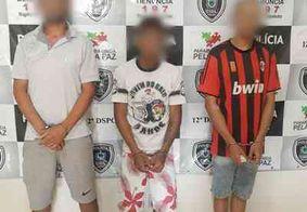 Polícia Civil prende mais três suspeitos de vários roubos no interior da PB