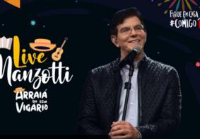 Ao vivo: acompanhe a Live do Padre Reginaldo Manzotti
