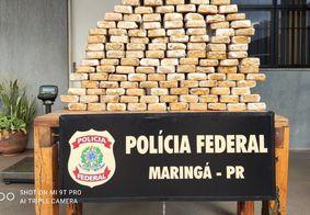 Material apreendido pela Polícia Federal