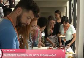 Vídeo: Veja como foi a estreia da nova programação da RTC