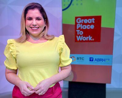 GPTW Paraíba teve apresentação de Karine Tenório.