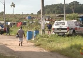 Você viu? Homem tenta derrubar drone da PM e é detido na Paraíba