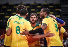 Brasil perdeu por 3 sets a 0 nesta quarta-feira (28)