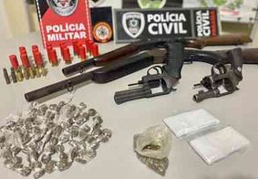 Operação prende suspeitos de tráfico de drogas em São José dos Ramos, na PB