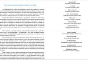 Paraíba adere a abaixo assinado em que governadores pedem compra de vacinas