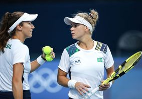 Tênis: Stefani e Pigossi vencem de virada e avançam às quartas em Tóquio