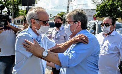 Cícero Lucena (PP) e João Azevêdo (Cidadania)