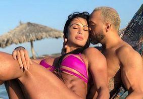 Belo diz ser privilegiado por ter Gracyanne Barbosa como sua mulher