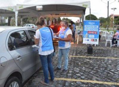 João Pessoa vacina idosos, trabalhadores da educação, saúde e pessoas com comorbidades