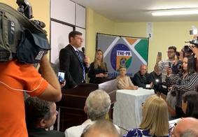 """""""Estou muito feliz e realizo um sonho"""", diz Vitor Hugo ao ser diplomado no TRE-PB"""