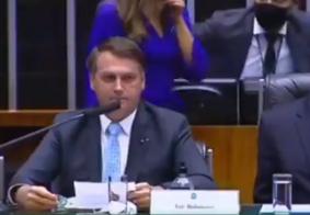 """Bolsonaro é chamado de """"Genocida"""" em solenidade no Congresso Nacional"""