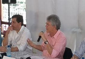 Em coletiva, governador revela apoio ao ex-presidente Lula