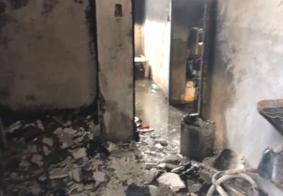 Incêndio destrói apartamento em João Pessoa