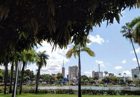 Parque da Lagoa, no Centro de João Pessoa.