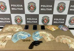 Casal é preso com mais de R$ 7 mil durante abordagem da PM, em JP