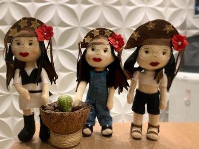 Reeducandas de presídio da Paraíba fabricam boneca da Juliette