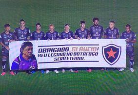 Botafogo-PB homenageia Glaucio Lima na final da Pré-Copa do Nordeste; veja