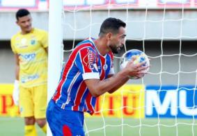 Com quatro gols de Gilberto, Bahia goleia Altos-PI na Copa do Nordeste